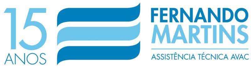 Logotipo 15 Anos Fernando Martins Lda