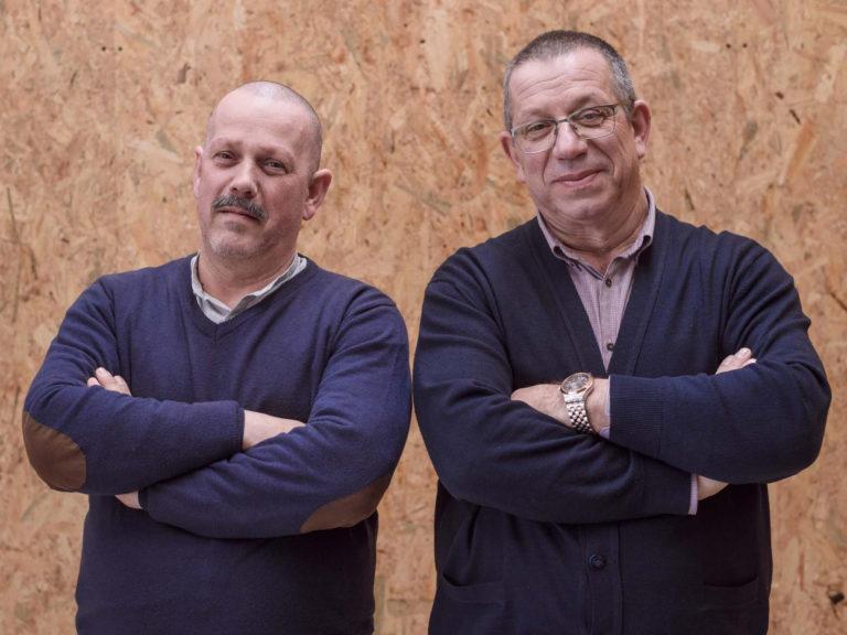 Sócios Fernando e Paulo Martins