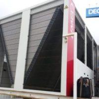Reparação de fuga de fluído frigorigéneo em UTA (2)