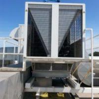 Reparação de fuga de fluído frigorigéneo em UTA (4)